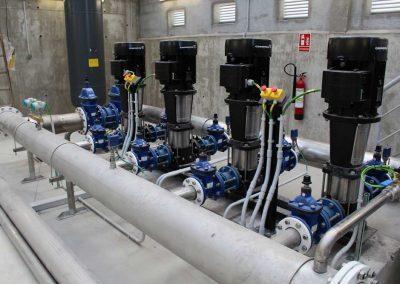 Elevadora de agua potable en Colmenar